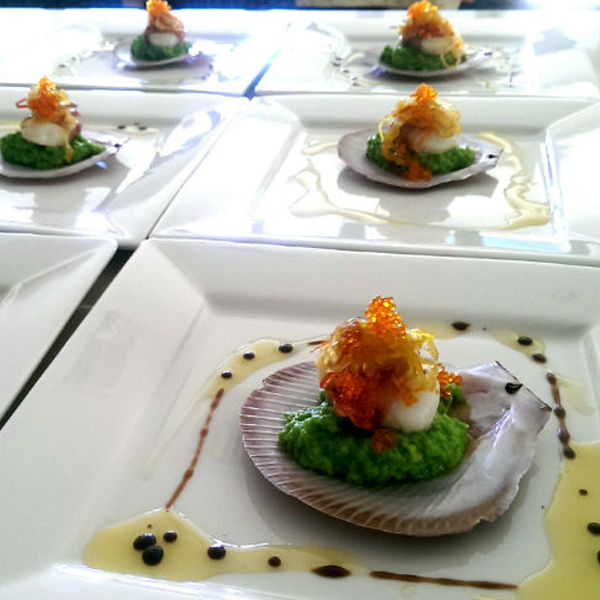 Degustation menu item caterer noosa
